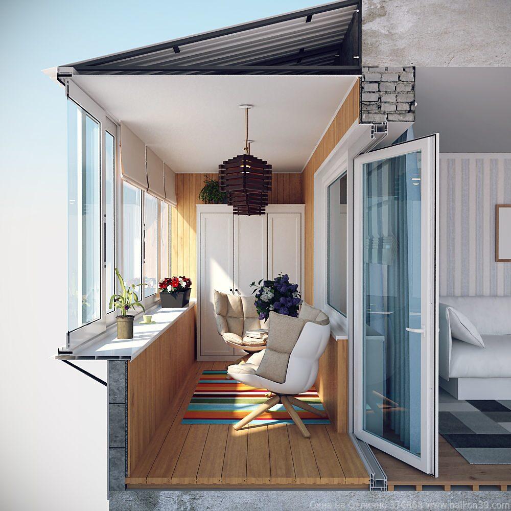 Остекление и отделка балкона под ключ в волгограде и волжско.