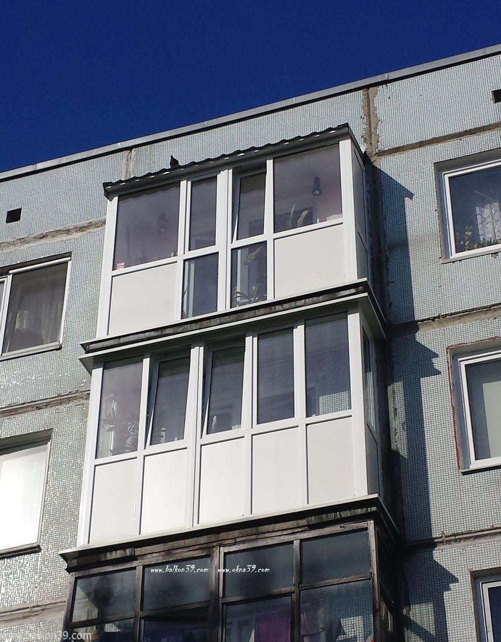Балконы панельных зданий..