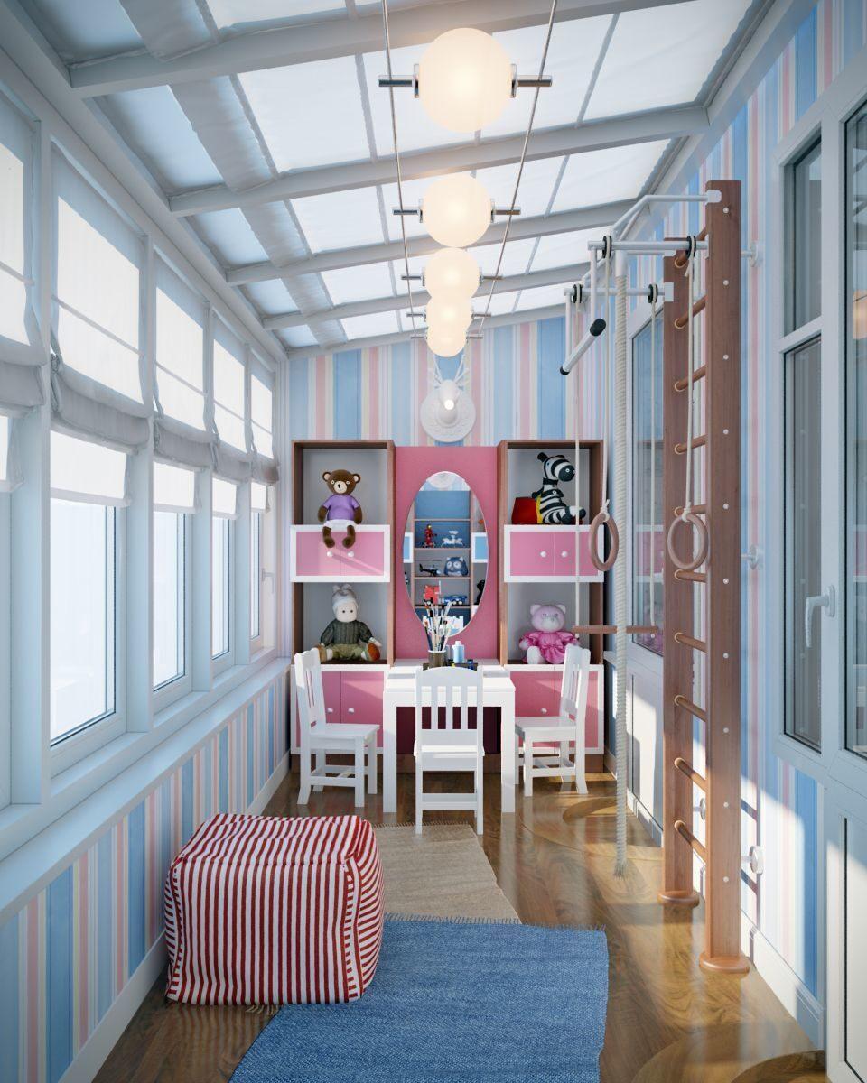 """Детская зона на балконе"""" - карточка пользователя i.te-ex в Я."""